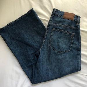 Madewell Emmet Wide Leg Crop